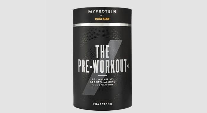 THE Pre-Workout+ edzés előtti formula