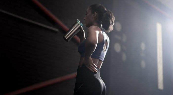 Edzés előtti pörgető fogyasztása
