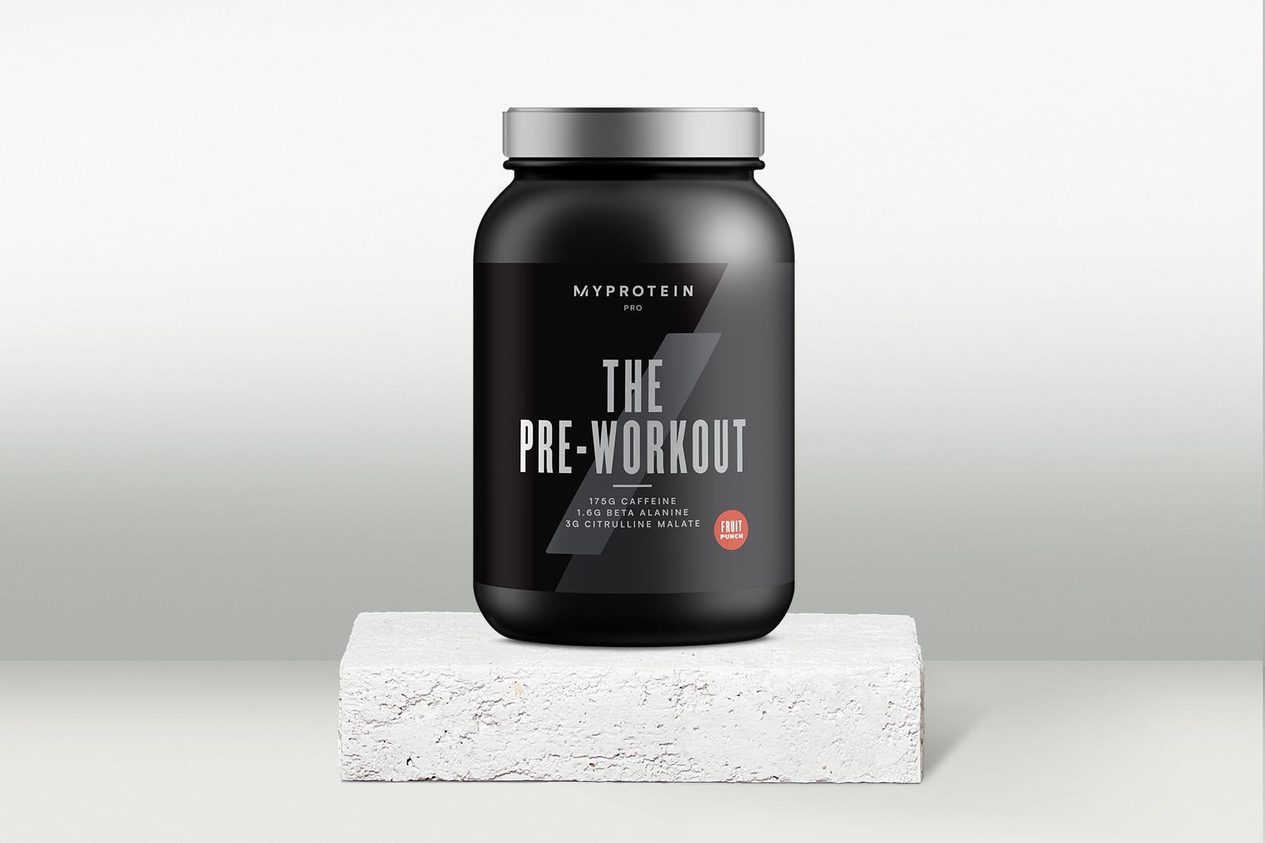THE pre workout - prémium edzés előtti formula