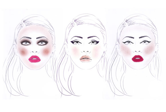 Party Face: The Team's Seasonal Make-up Looks