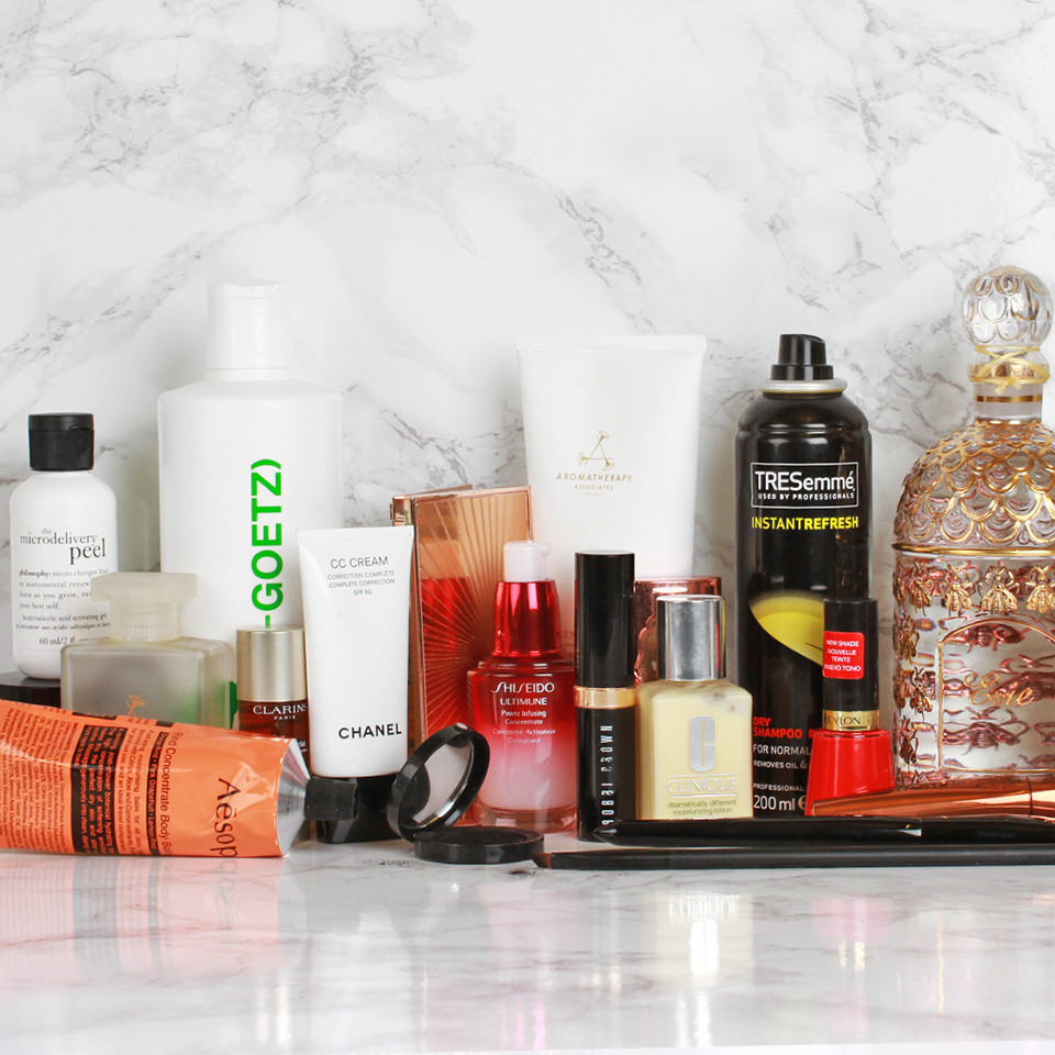 Beauty Shelfie: Evie Leatham