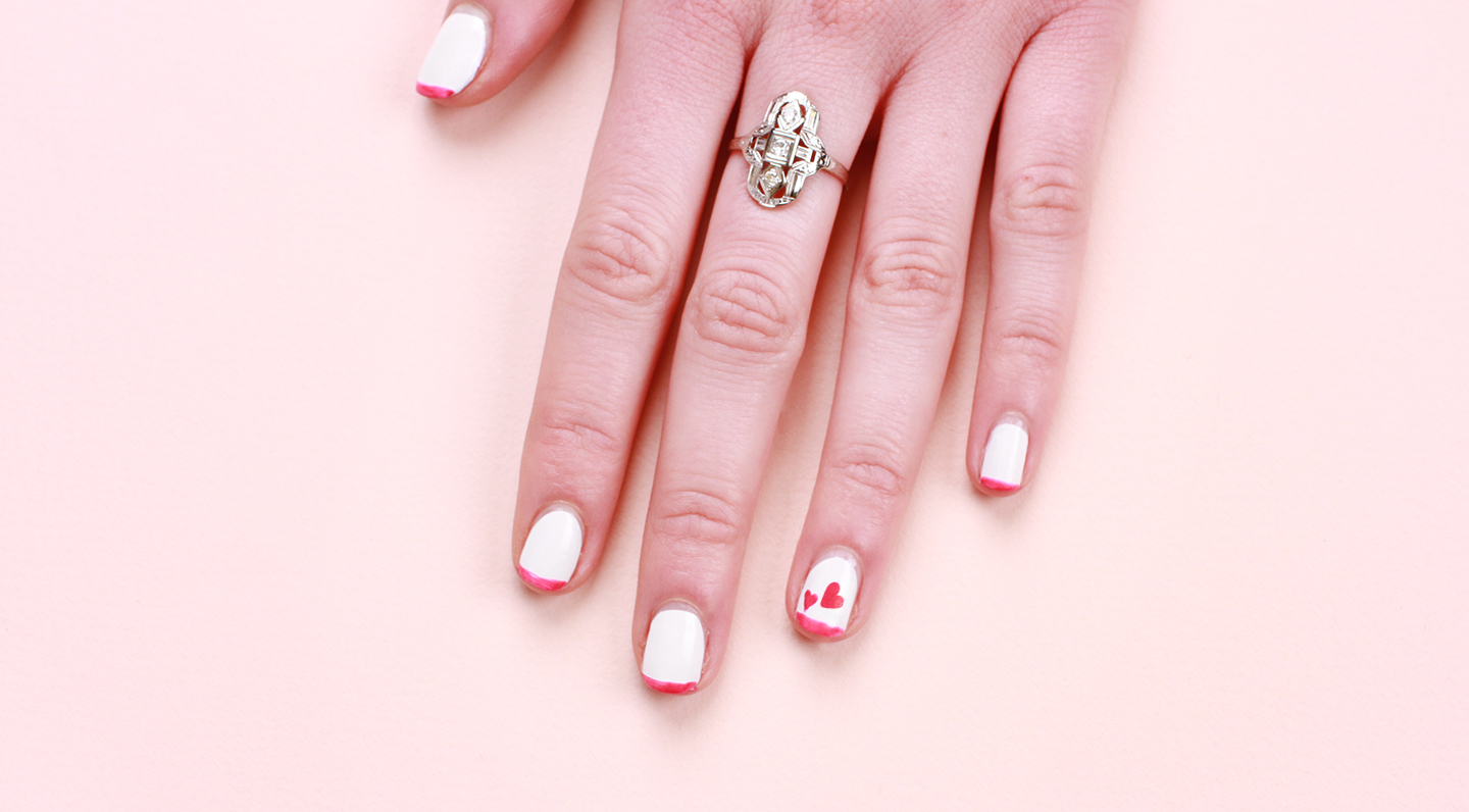 Nail Art Ideas: Valentine's-Inspired Mani