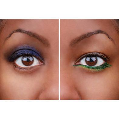 Subtle or statement: make your eye colour pop
