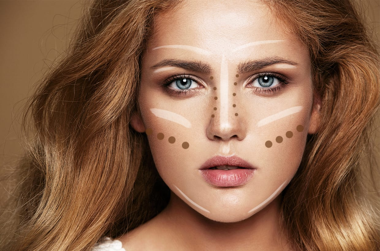 Makeup Contouring: The Glossy Guide To Strobing