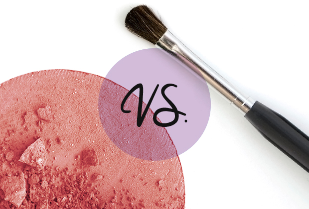 Blush Or Brush: You Decide