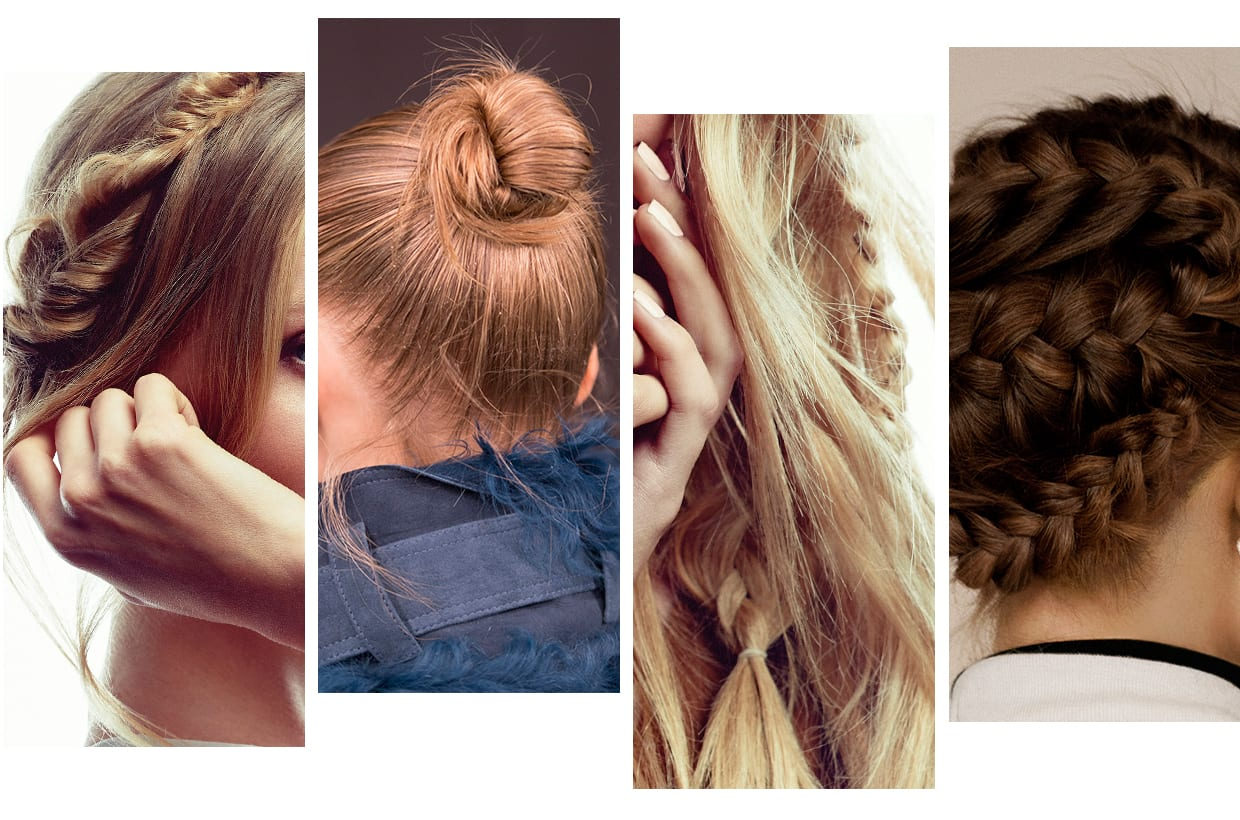 Four Hair Styles For Summer: Braids, Waves And Knots