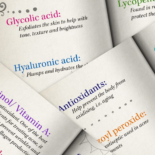 Beauty Buzzwords: The Best Skincare Ingredients