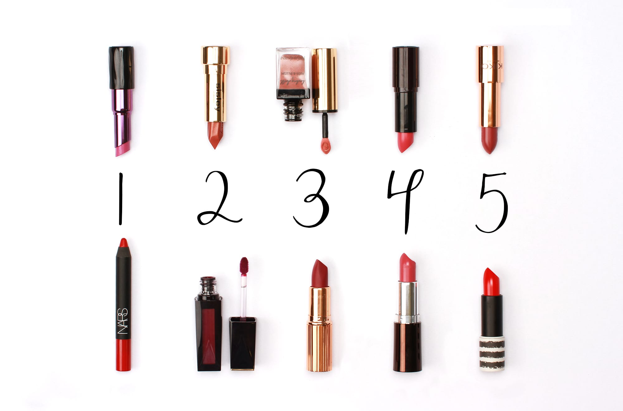 The Best Autumnal Lipsticks
