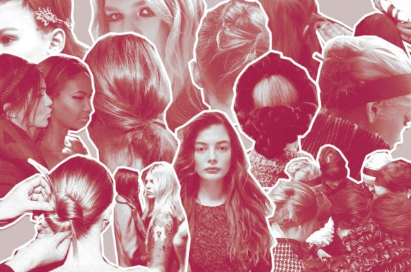 The Latest (Glossy) Hair Trends