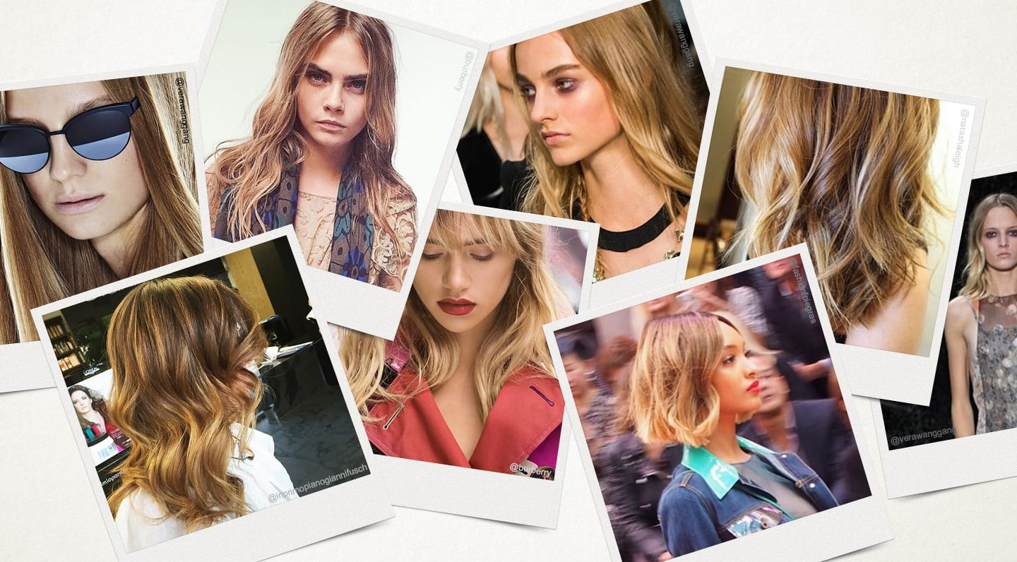 The Rise Of Bronde Hair Colour