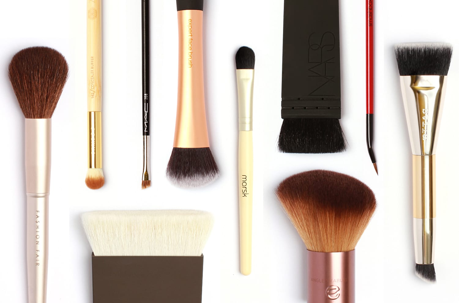 Face Study: The Best Makeup Brushes