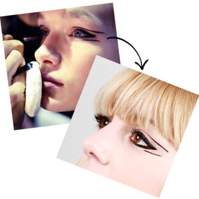 Runway To Real Life: Graphic Eyeliner