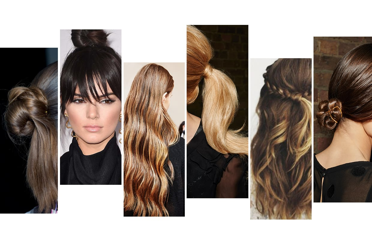 Six Easy Hairstyles For Party Season