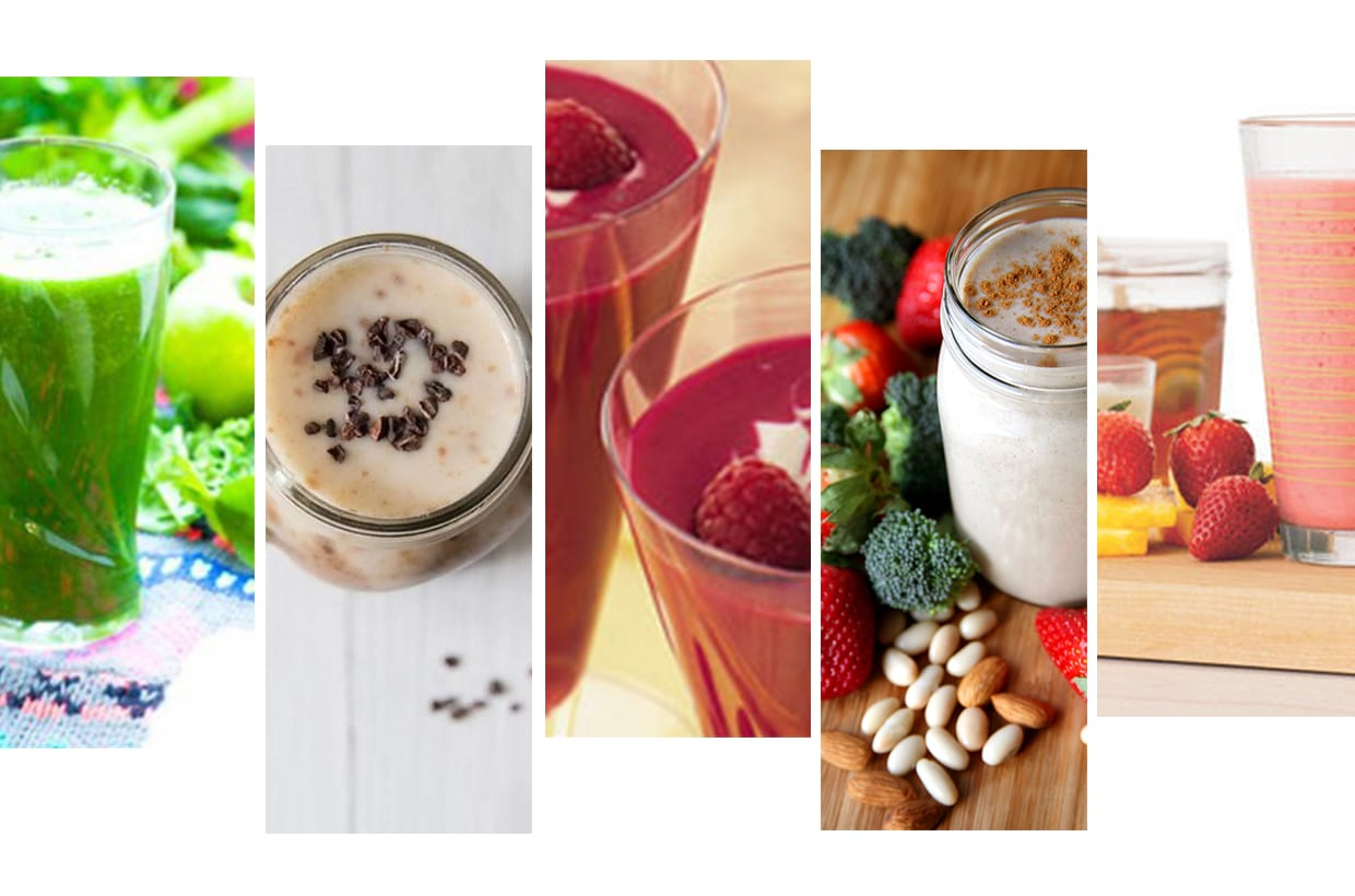 Five Healthy Breakfast Smoothie Recipes