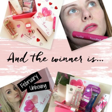 Introducing February's GLOSSYBOX GLAMBASSADOR Winner