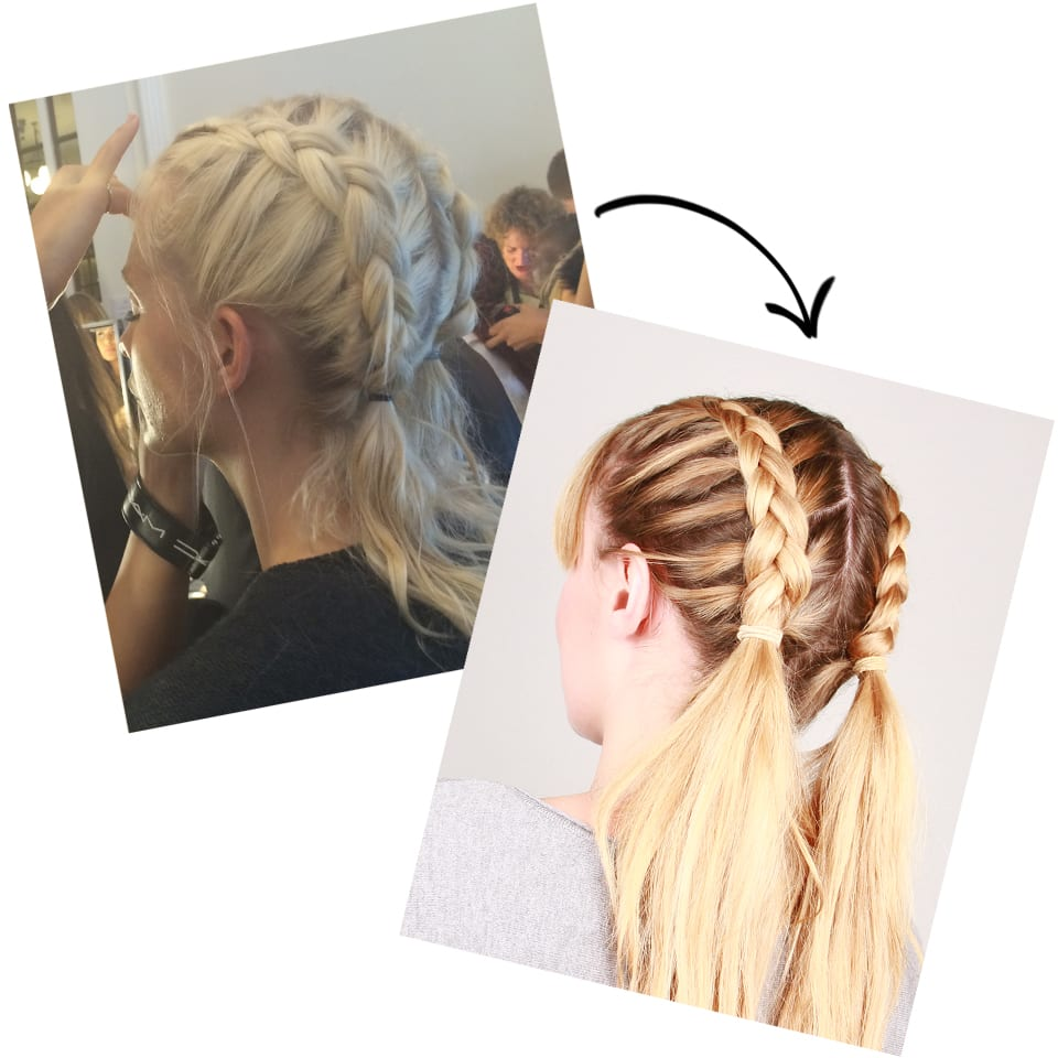 Runway To Real Life: Grownup Braided Bunches