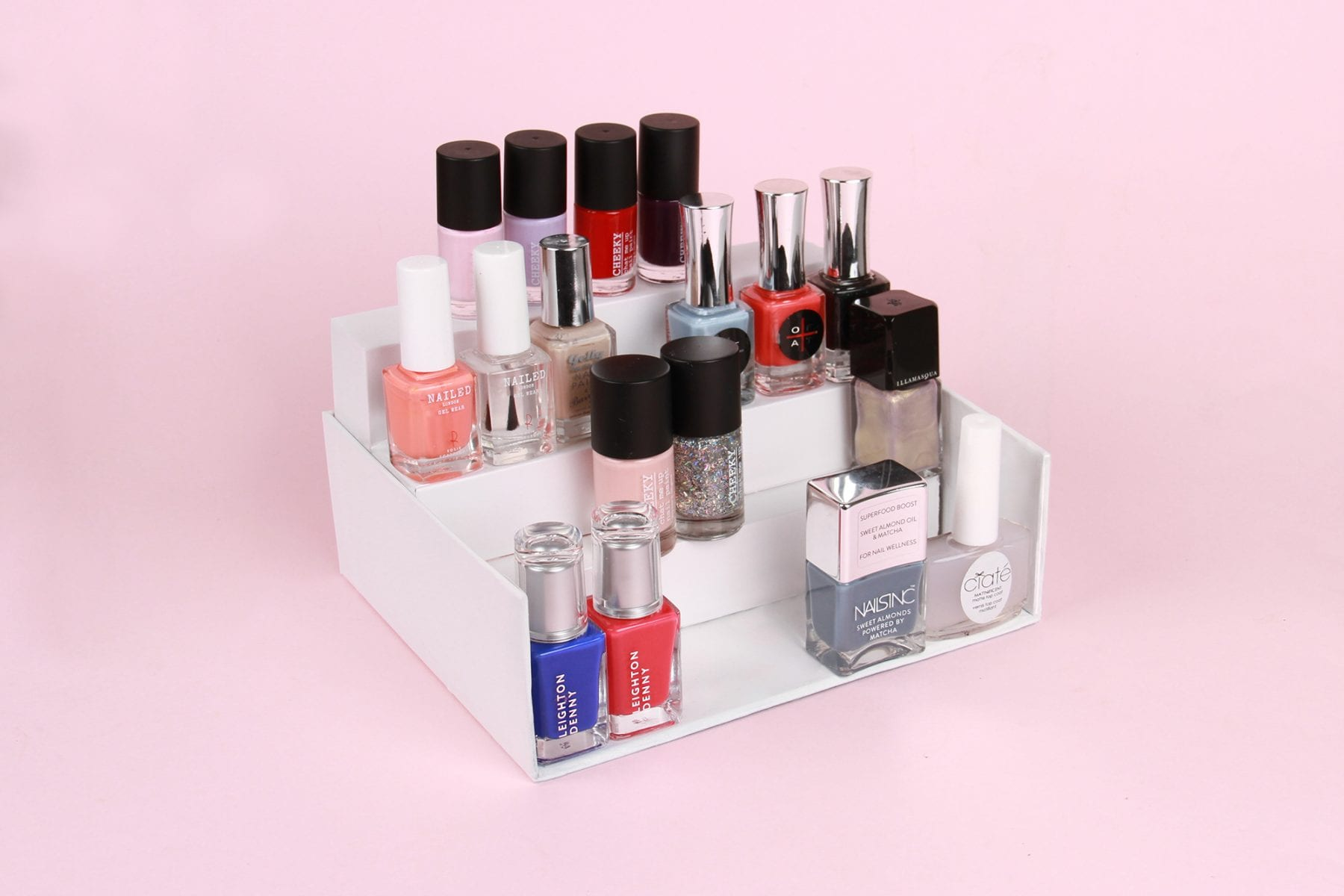 Upscale Your GLOSSYBOX Into A Nail Polish Stand