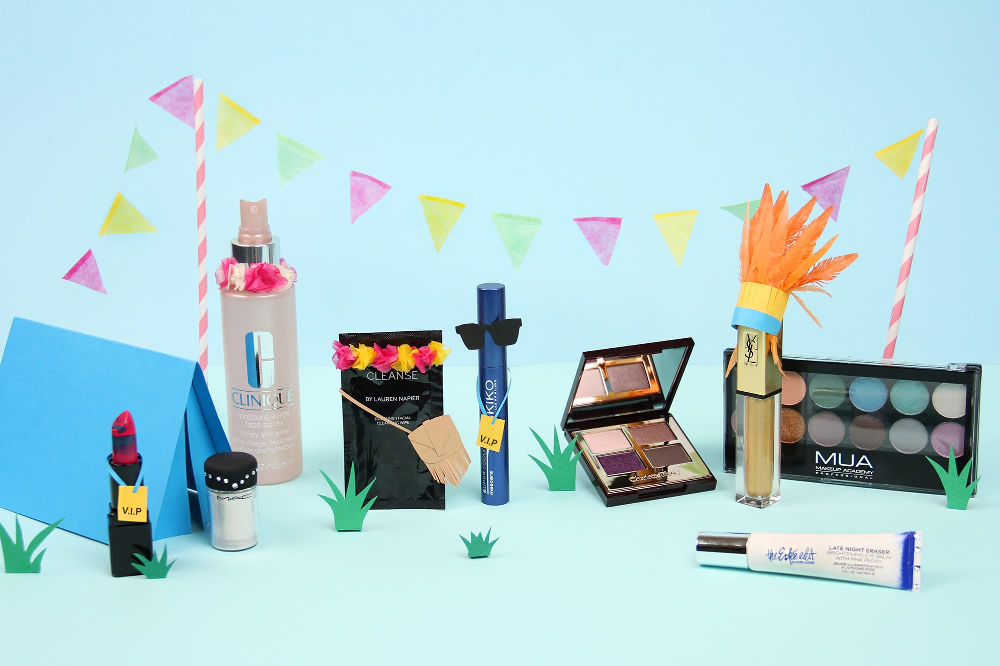 What To Pack: The Best Festival Face Kit, Ever