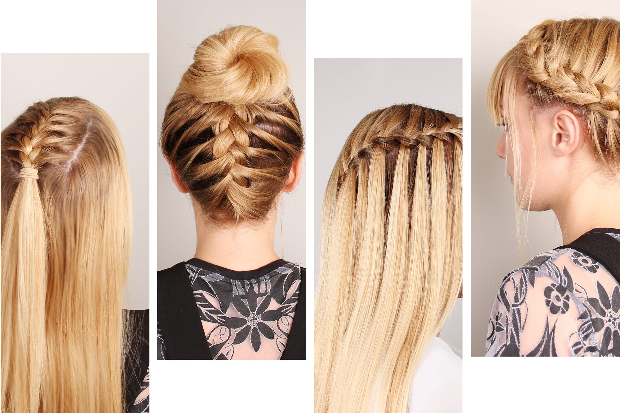 The Braidy Bunch: Four Festival Hairstyles