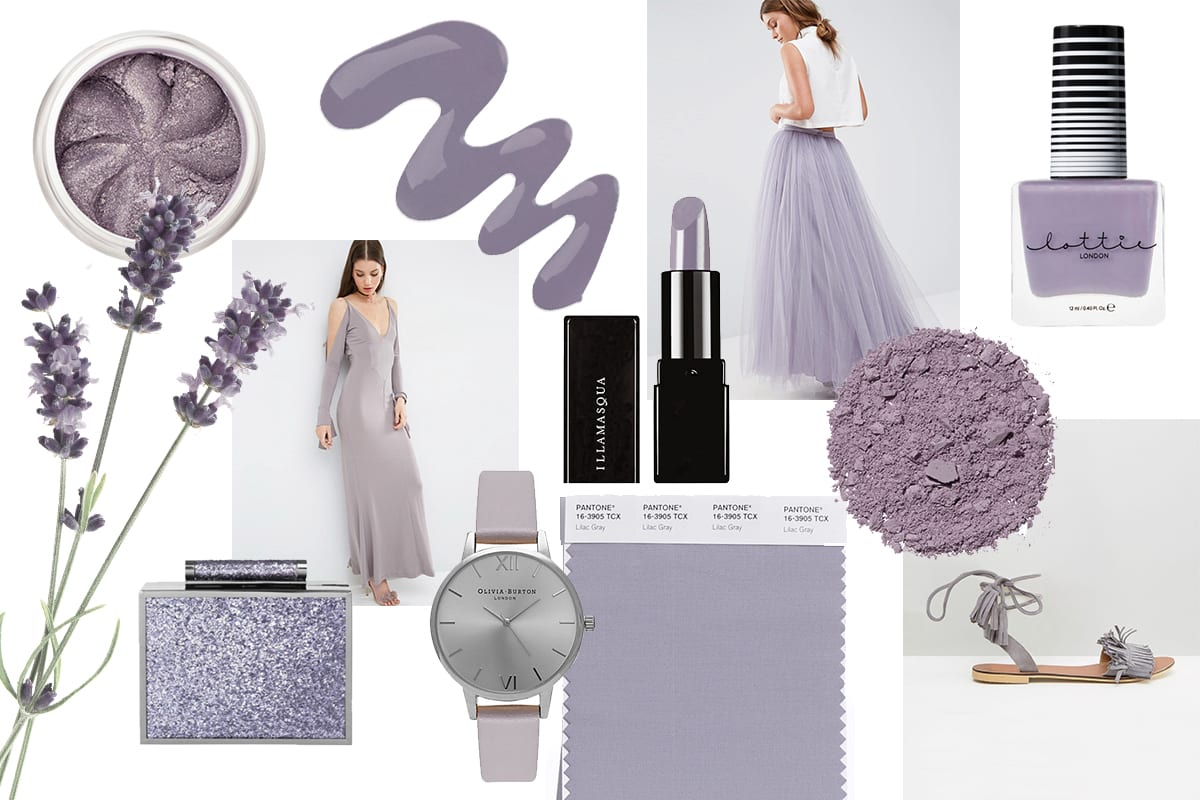 Pantone Of The Month: Lilac Grey