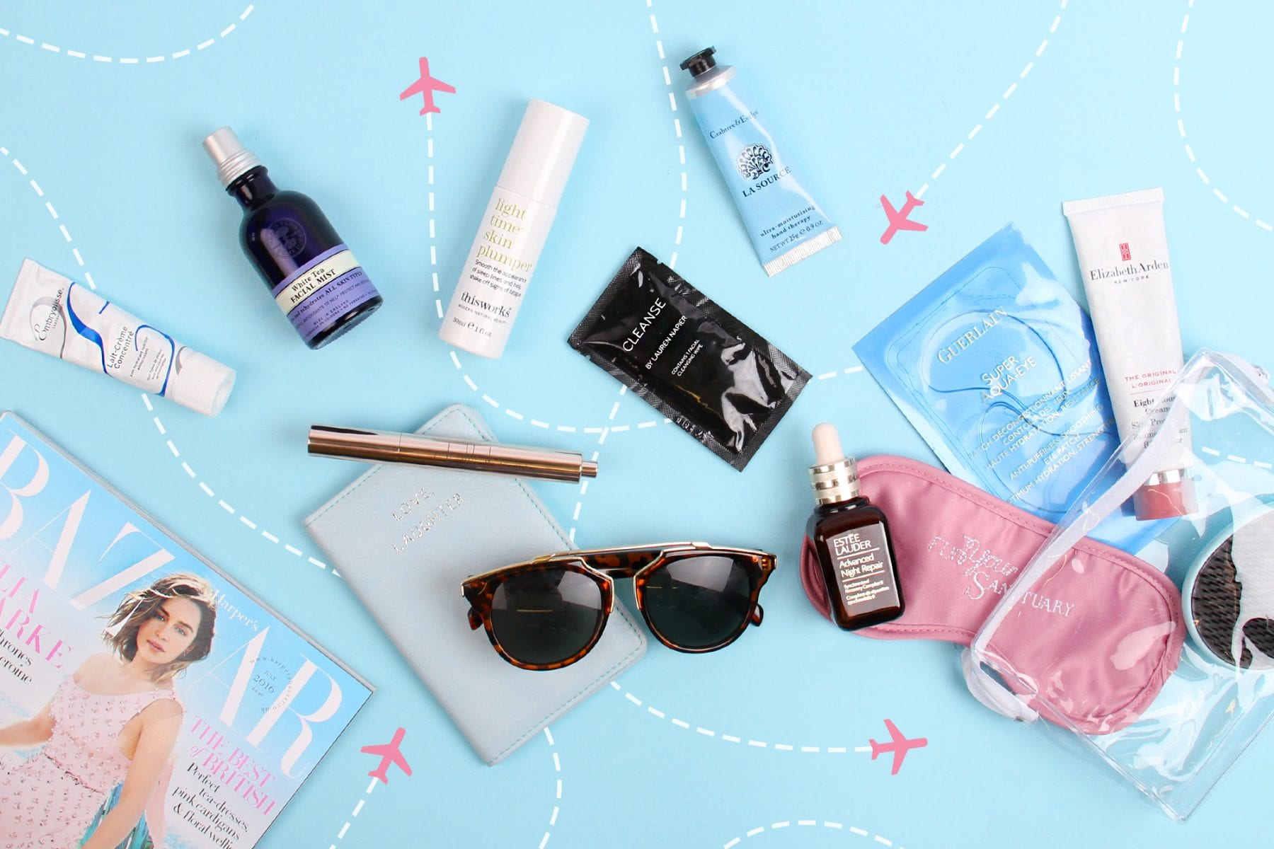 The Beauty Essentials To Get You Through A Flight