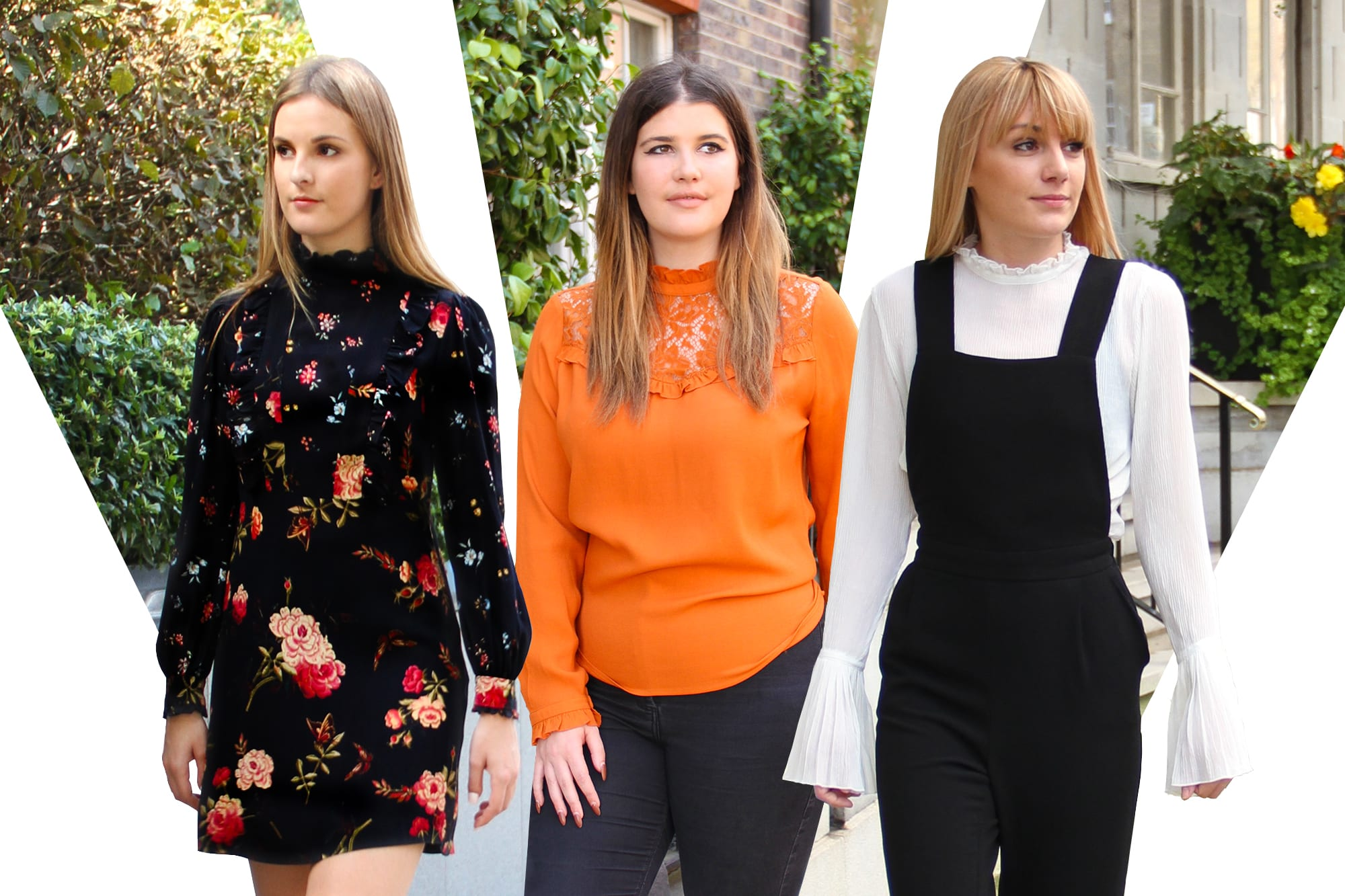 Team Tries Fashion: High Neck Frills