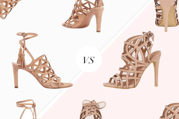 Save Vs Splurge: The £15 Take On Chloé's Cutout Suede Sandals