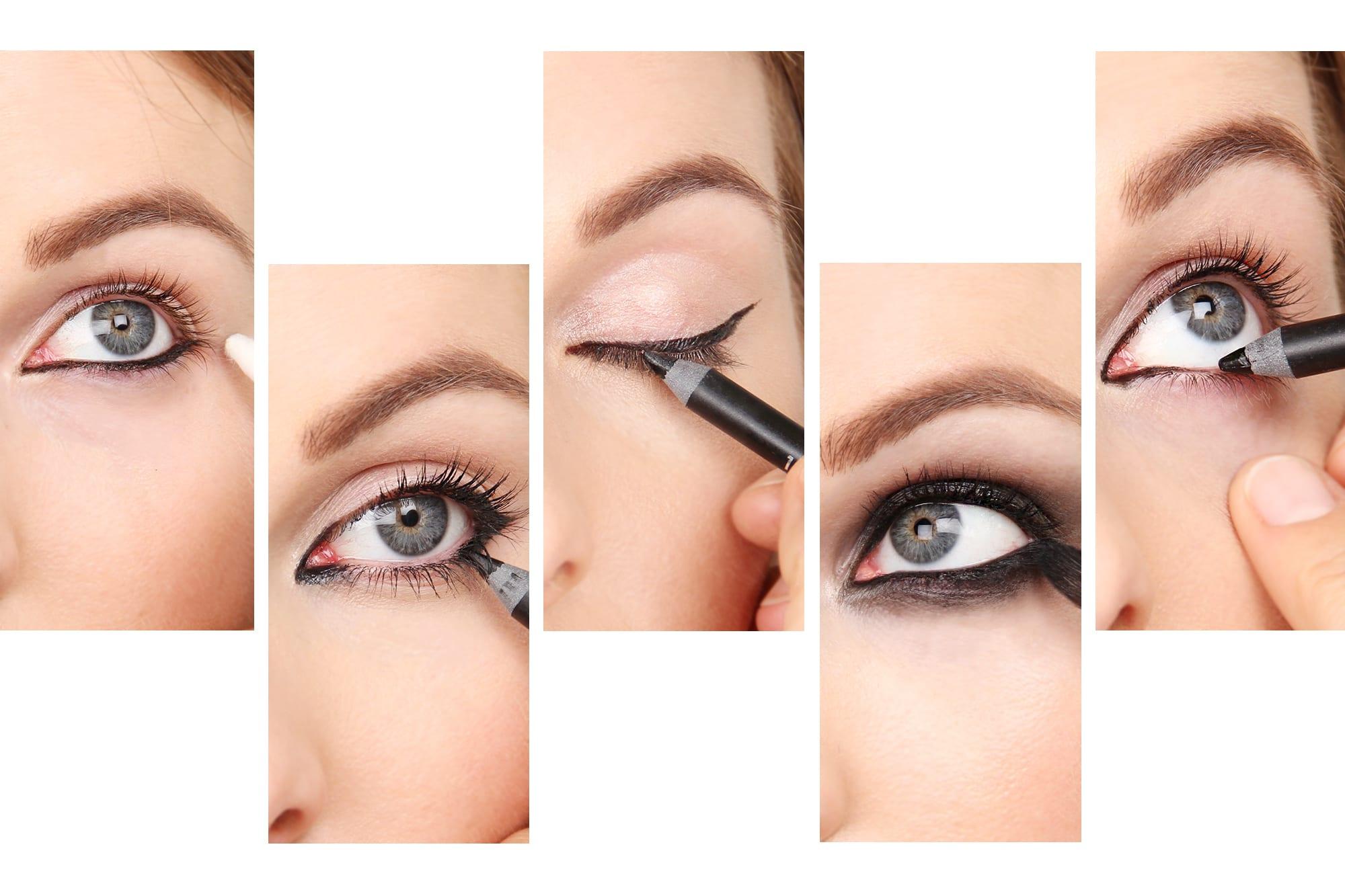 Beauty School: Five Ways To Apply Eyeliner