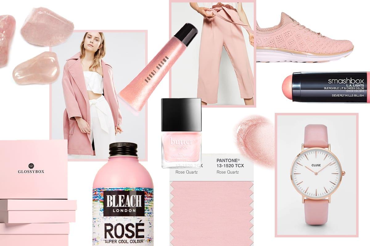 Pantone Of The Month: Rose Quartz