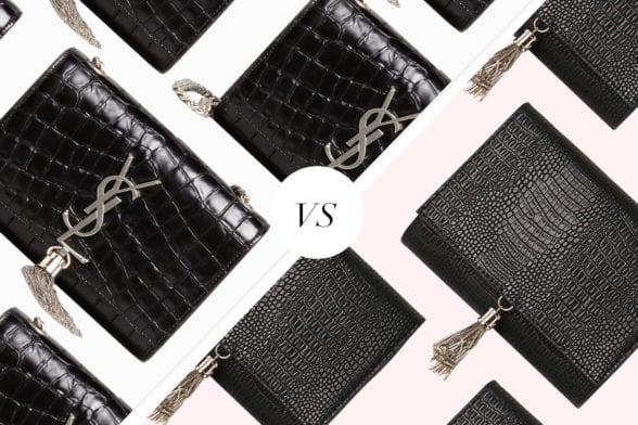 Save Vs Splurge: The £20 Dupe Of Saint Laurent's Croc Clutch
