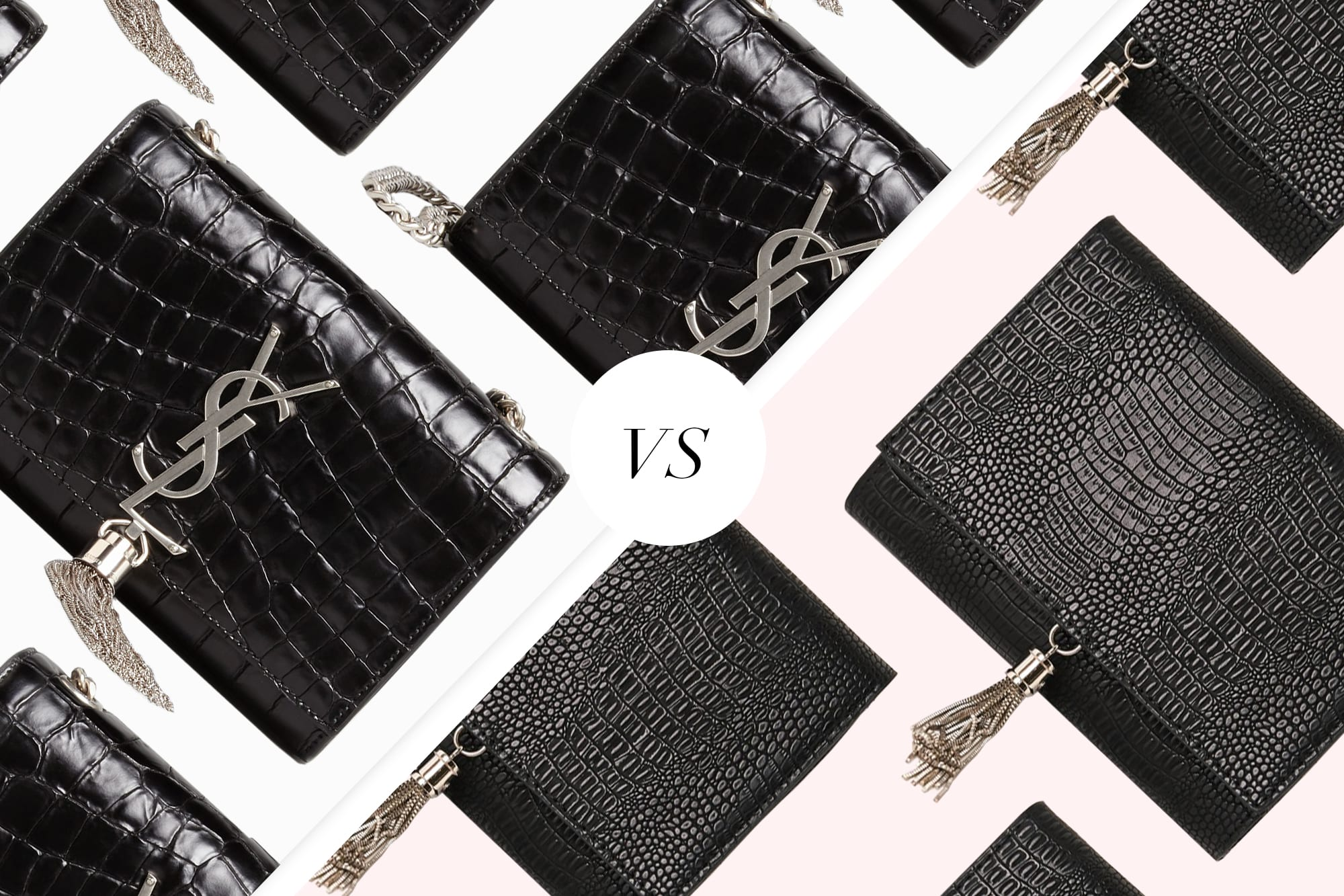 Save Vs Splurge: The £20 Dupe Of Saint Laurent's Croc Clutch