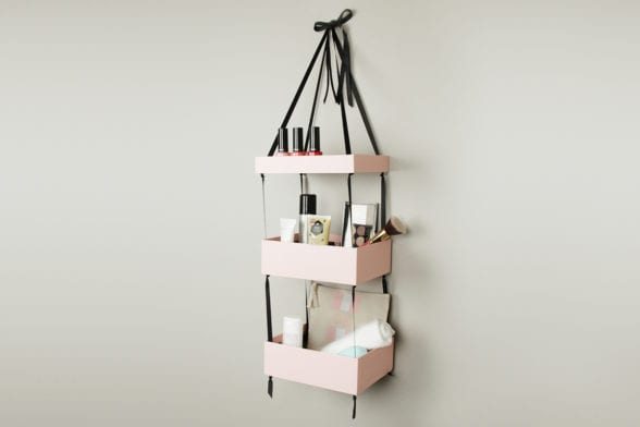 Upscale Your Glossybox: Hanging Shelves
