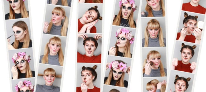 Team Tries: Halloween Makeup