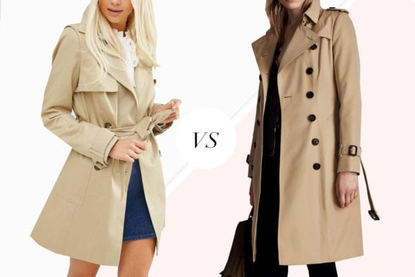 Save Vs Splurge: Burberry's Trench Coat