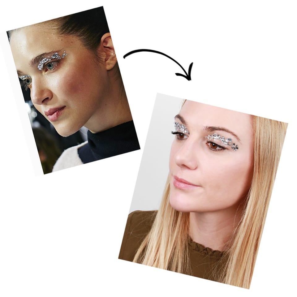 Runway To Real Life: Silver Leaf Eyeshadow