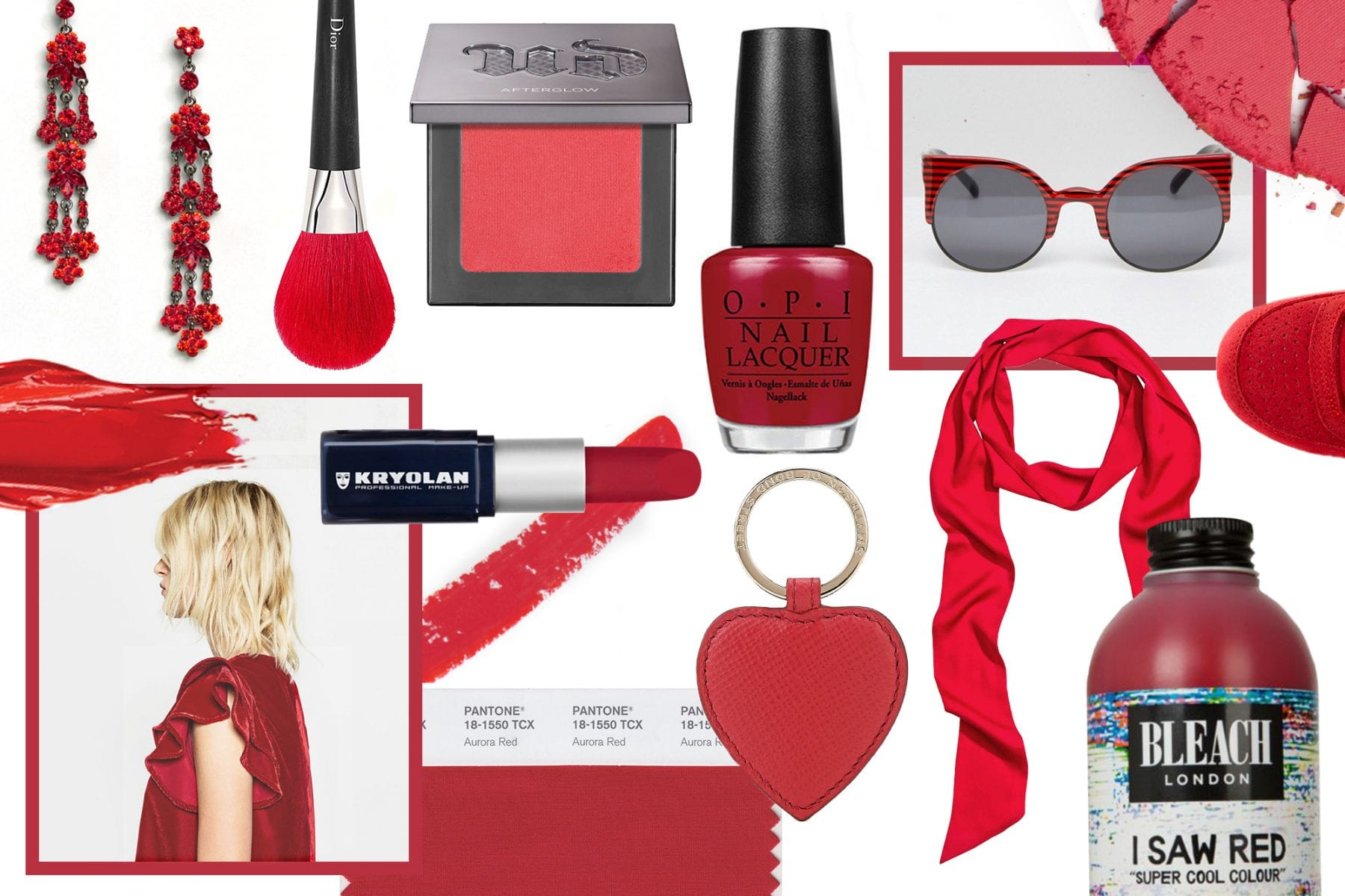 Pantone Of The Month: Aurora Red