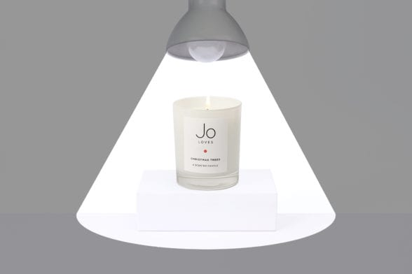 In The Spotlight: Jo Loves Christmas Trees Candle