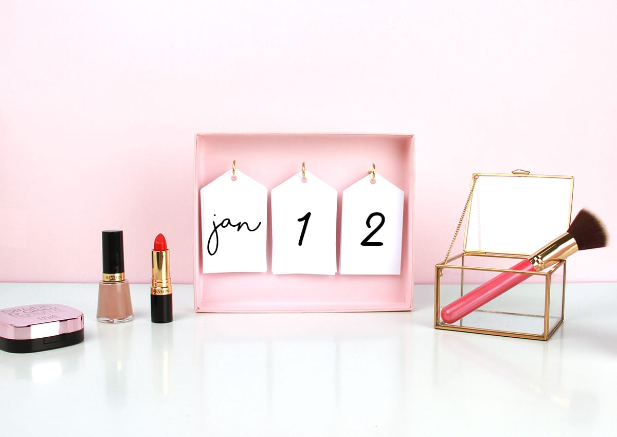 Upscale: Turn Your GLOSSYBOX Into A Calendar!