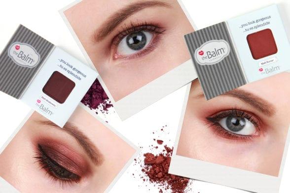 Beauty School: Two Ways To Use theBalm Eyeshadow