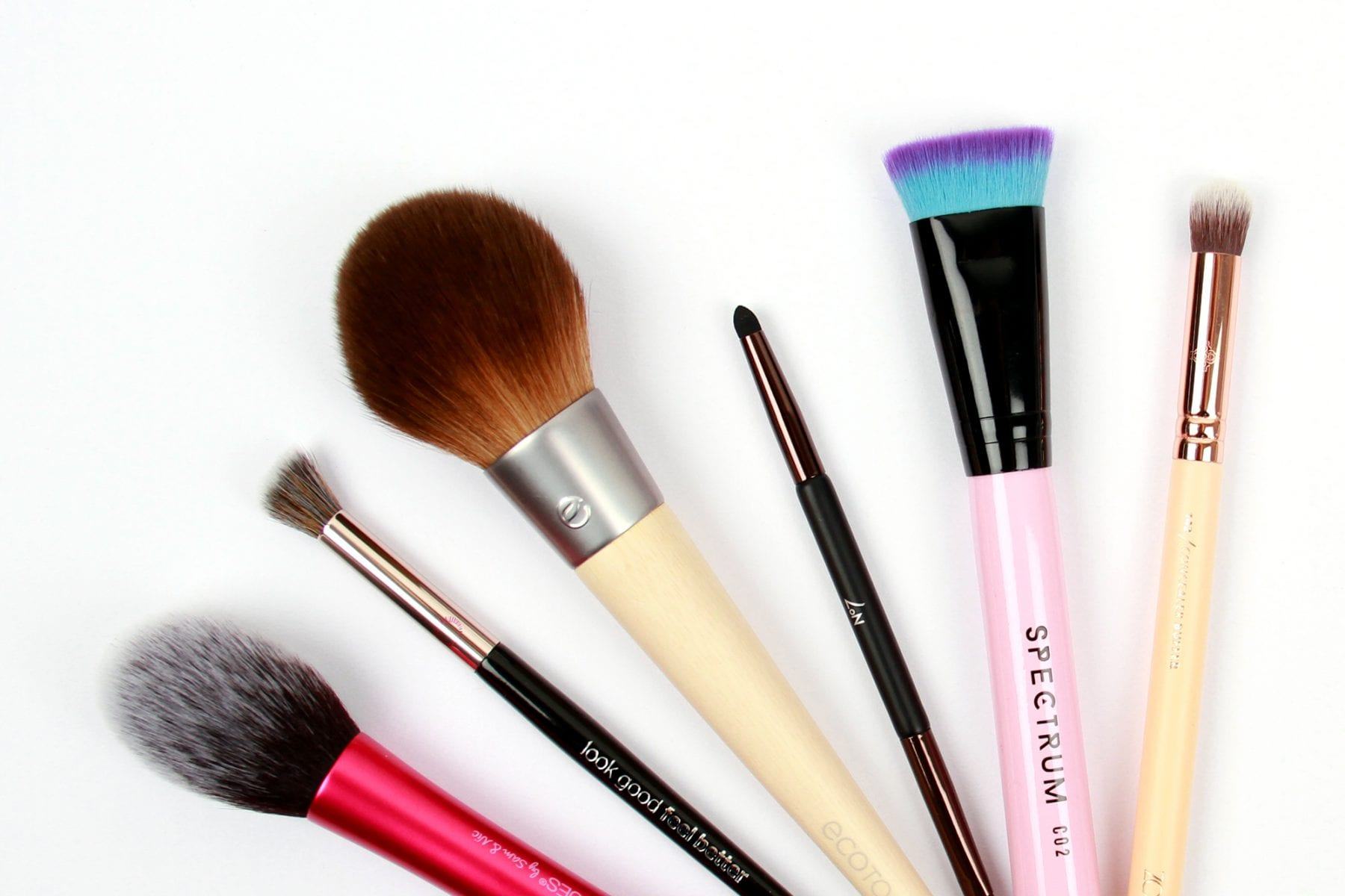 How To Clean Makeup Brushes And What Products To Use