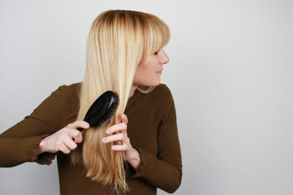 You're Brushing Your Hair Wrong...