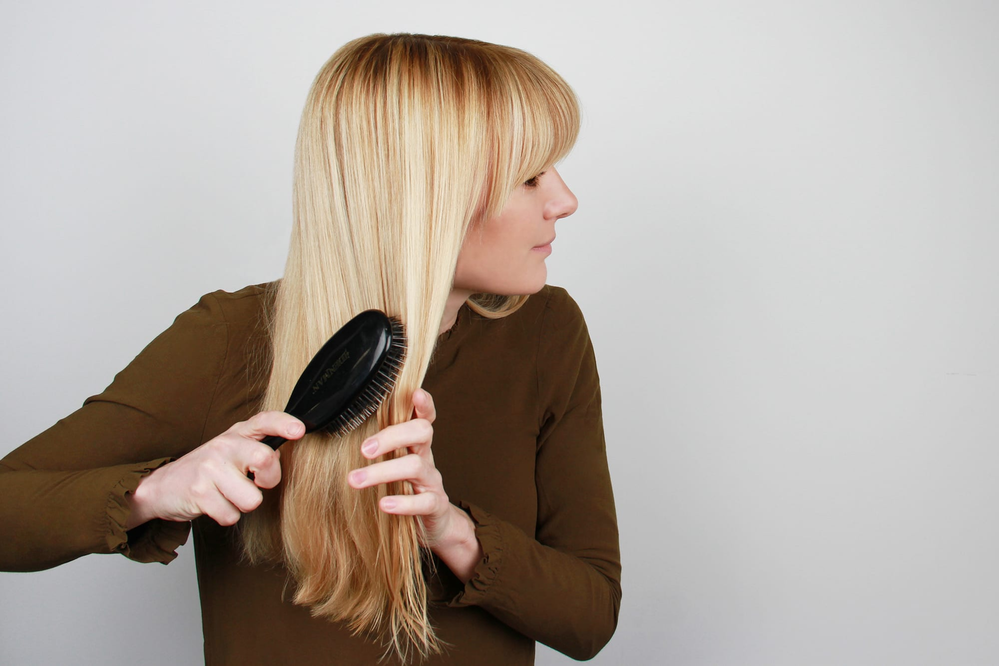 You're Brushing Your Hair Wrong…