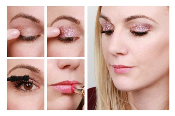 Runway To Real Life: Pink Glitter Eyes