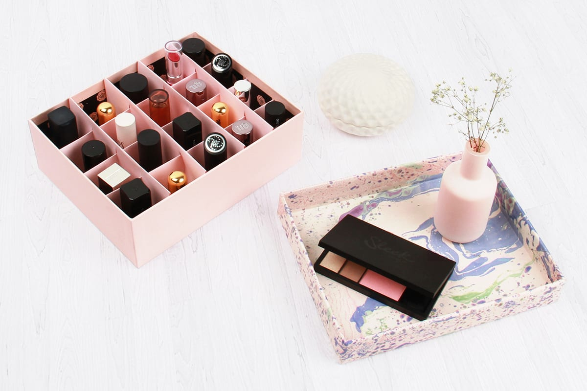 Upscale Your Glossybox: Beauty Organisers