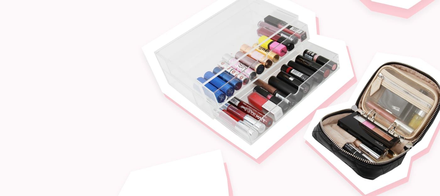 5 Makeup Organisers To Satisfy Your Inner Neat Freak