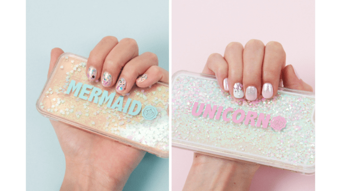 How To Nail The Mermaid And Unicorn Mani