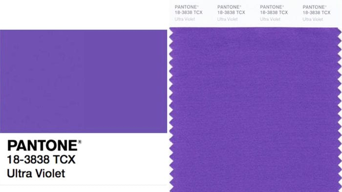 Ultra Violet: Meet Pantone's Colour of 2018
