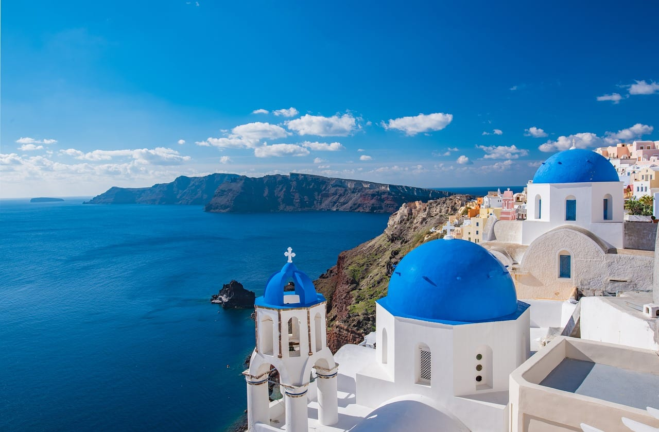 santorini holiday