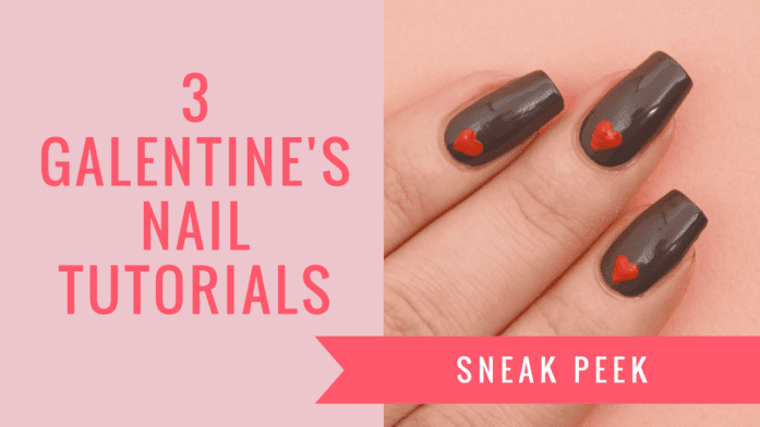 Beauty School: Galentine's Nail Art Tutorials With Ciaté