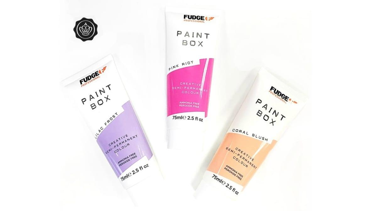 Team Tries: Fudge Paintbox Hair Colourant